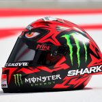 Shark new Design helmet 'Diabolo' unveiled by Lorenzo