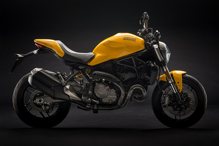 Ducati Monster 821 2018 Yellow