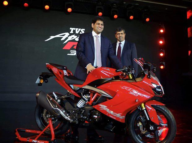 TVS Apache RR 310 Nepal Launched
