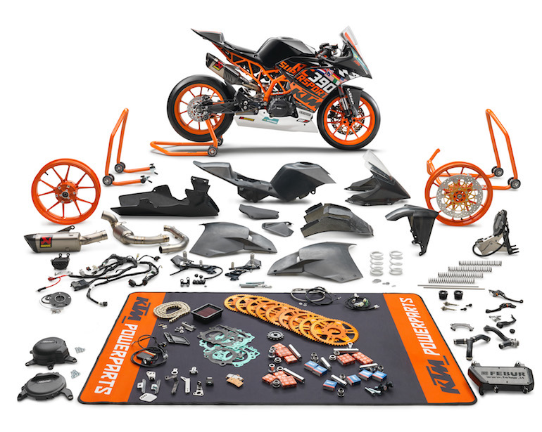 KTM introduces the new 2018 KTM RC 390 R